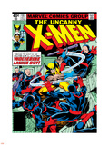 Marvel Comics Retro: The X-Men Comic Book Cover No.133, Wolverine Lashes Out Wall Decal