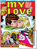 Marvel Comics Retro: My Love Comic Book Cover No.18, Kissing, Love on the Rebound Poster