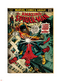 Marvel Comics Retro: The Amazing Spider-Man Comic Book Cover No.123, Luke Cage - Hero for Hire Plastic Sign