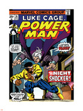 Marvel Comics Retro: Luke Cage, Hero for Hire Comic Book Cover No.26, the Night Shocker! Wall Decal