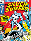 Marvel Comics Retro: Silver Surfer Comic Book Cover No.17 Print