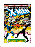 Marvel Comics Retro: The X-Men Comic Book Cover No.97, Havok, My Brother-My Enemy! Plastic Sign