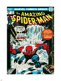 Marvel Comics Retro: The Amazing Spider-Man Comic Book Cover No.151, Flooding Plastic Sign