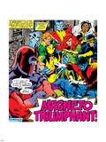 Marvel Comics Retro: X-Men Comic Panel Plastic Sign