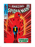Marvel Comics Retro: The Amazing Spider-Man Comic Book Cover No.50, Spider-Man No More! Plastic Sign
