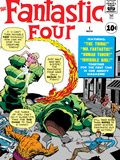Marvel Comics Retro: Fantastic Four Family Comic Book Cover No.1 Posters