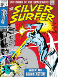 Marvel Comics Retro: Silver Surfer Comic Book Cover No.7 Prints