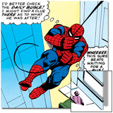 Marvel Comics Retro: The Amazing Spider-Man Comic Panel Prints