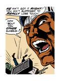 Marvel Comics Retro: Luke Cage, Hero for Hire Comic Panel Wall Decal