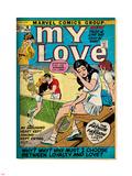 Marvel Comics Retro: My Love Comic Book Cover No.16, Tennis, Pathos and Passion (aged) Lepicí obraz na stěnu