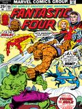 Marvel Comics Retro: Fantastic Four Family Comic Book Cover No.166, Thing Vs. Hulk Posters
