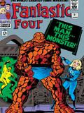 Marvel Comics Retro: Fantastic Four Family Comic Book Cover No.51 Posters