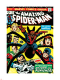 Marvel Comics Retro: The Amazing Spider-Man Comic Book Cover No.135, Return of the Punisher! Wall Decal