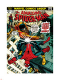 Marvel Comics Retro: The Amazing Spider-Man Comic Book Cover No.123, Luke Cage - Hero for Hire Kunststof bord
