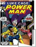 Marvel Comics Retro: Luke Cage, Hero for Hire Comic Book Cover No.26, the Night Shocker! Poster