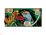 Marvel Comics Retro: The Amazing Spider-Man Comic Panel, the Vulture, Thop! (aged) Plastic Sign