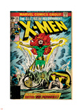 Marvel Comics Retro: The X-Men Comic Book Cover No.101, Phoenix, Storm, Nightcrawler, Cyclops Wall Decal