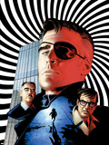 The Pulse No.7 Cover: Nick Fury, Jameson, J. Jonah, Urich and Ben Plastic Sign