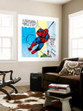 Marvel Comics Retro: The Amazing Spider-Man Comic Panel Wall Mural