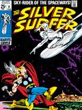 Marvel Comics Retro: Silver Surfer Comic Book Cover No.4, Thor Poster