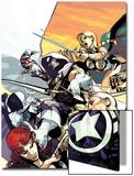 Taskmaster No.4 Cover: Taskmaster Print by Jefte Palo