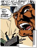 Marvel Comics Retro: Luke Cage, Hero for Hire Comic Panel Posters