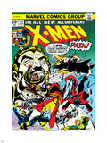 Marvel Comics Retro: The X-Men Comic Book Cover No.94, Colossus, Nightcrawler, Cyclops, Banshee Wall Decal