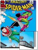 Marvel Comics Retro: The Amazing Spider-Man Comic Book Cover No.39, Green Goblin Print