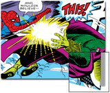 Marvel Comics Retro: The Amazing Spider-Man Comic Panel Prints