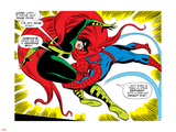 Marvel Comics Retro: The Amazing Spider-Man Comic Panel, Medusa Wall Decal