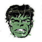 Marvel Comics Retro: The Incredible Hulk (aged) Wall Decal