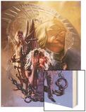 S.H.I.E.L.D. No.6 Cover: Leonid Wood Print by Gerald Parel