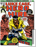Marvel Comics Retro: Luke Cage, Hero for Hire Comic Book Cover No.15, in Chains Prints