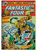 Marvel Comics Retro: Fantastic Four Family Comic Book Cover No.170 (aged) Posters