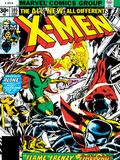 Marvel Comics Retro: The X-Men Comic Book Cover No.105, Phoenix, Colossus, Storm, Firelord Poster