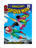 Marvel Comics Retro: The Amazing Spider-Man Comic Book Cover No.39, Green Goblin Plastic Sign