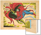 Marvel Comics Retro: The Amazing Spider-Man Comic Panel, Medusa Wood Print