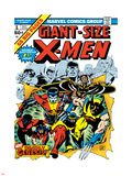 Marvel Comics Retro: The X-Men Comic Book Cover No.1 Wall Decal