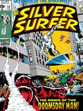 Marvel Comics Retro: Silver Surfer Comic Book Cover No.13 Prints