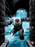 Supreme Power Nighthawk No.6 Cover: Nighthawk Wall Decal by Steve Dillon