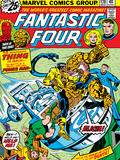 Marvel Comics Retro: Fantastic Four Family Comic Book Cover No.170 Poster
