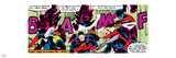 Marvel Comics Retro: X-Men Comic Panel, Nightcrawler Wall Decal