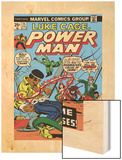 Marvel Comics Retro: Luke Cage, Hero for Hire Comic Book Cover No.25, Crime and Circus Wood Print