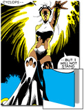 Marvel Comics Retro: X-Men Comic Panel, Storm Art