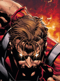 Squadron Supreme No.7 Cover: Hyperion Plastic Sign by Mike Deodato