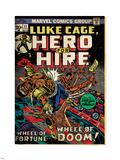 Marvel Comics Retro: Luke Cage, Hero for Hire Comic Book Cover No.11 (aged) Plastic Sign