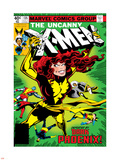 Marvel Comics Retro: The X-Men Comic Book Cover No.135, Phoenix Wall Decal