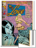 Marvel Comics Retro: My Love Comic Book Cover No.2, Crying and Dancing (aged) Print