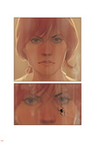 Black Widow 1 Figure: Black Widow Plastic Sign by Phil Noto