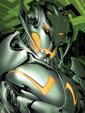 Annihilation: Conquest No.4 Headshot: Ultron Plastic Sign by Tom Raney